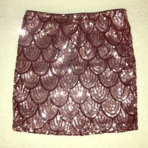 """""""Lily Rose"""" Sequence Skirt"""